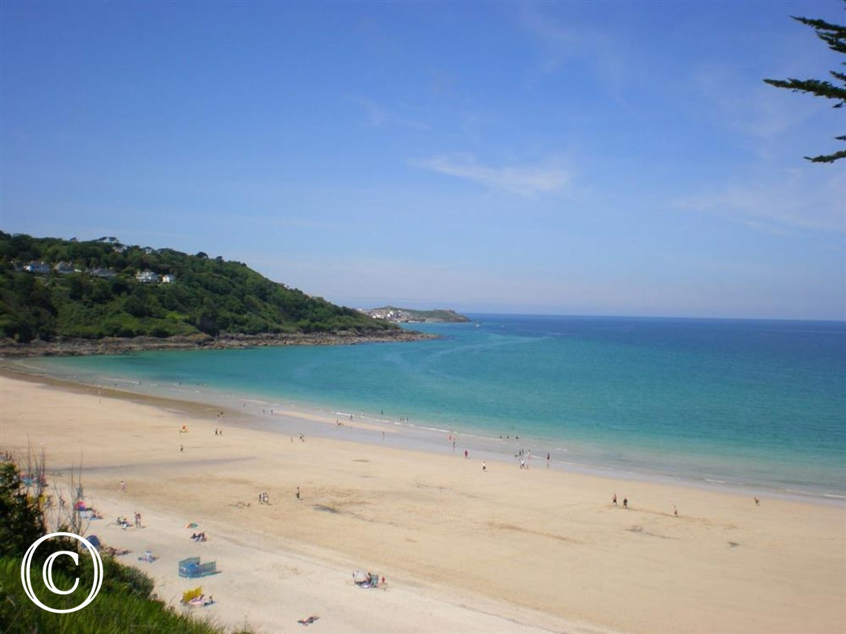 Only 5 minutes' walk from Carbis Bay beach