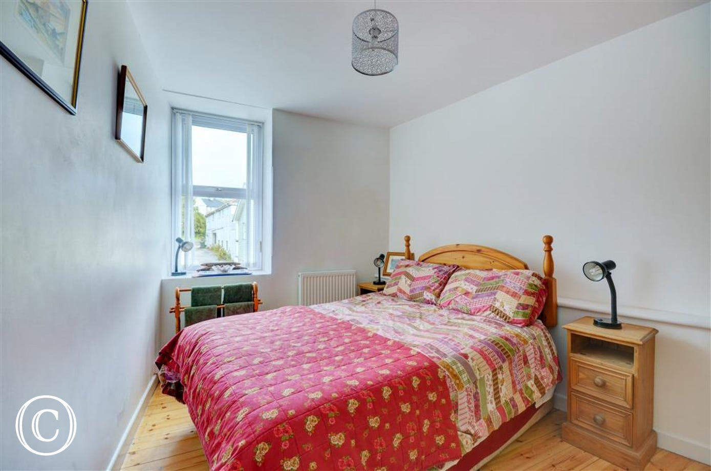 Double bedroom with bed linen provided