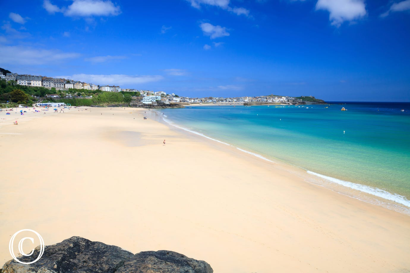Just a 6 minute walk to Porthminster beach